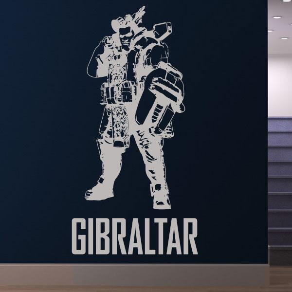 Apex Legends Gibraltar Wall Sticker