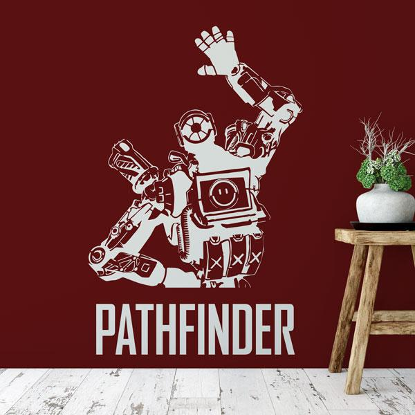 Apex Legends Pathfinder Wall Sticker - Apex Stickers