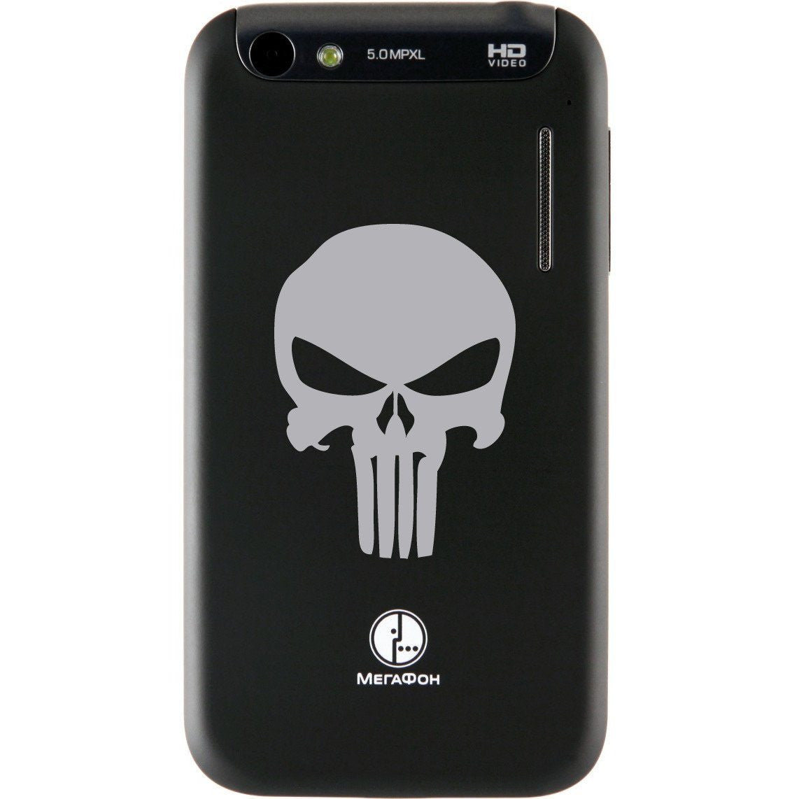 Punisher Skull Superhero Logo Bumper/Phone/Laptop Sticker (AS11001) - Apex Stickers