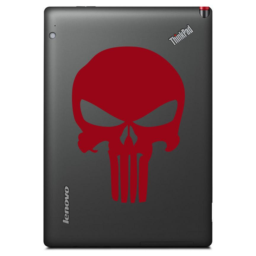 Punisher Skull Superhero Logo Phone & Laptop Sticker Pack - Apex Stickers
