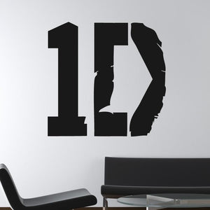 1D One Direction Wall Art Sticker (AS10183) - Apex Stickers