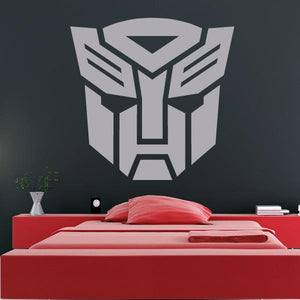 Autobot Transformers Logo Wall Art Sticker (AS10185) - Apex Stickers