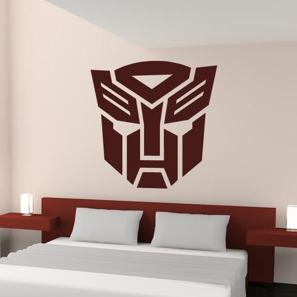 Autobot Transformers Logo Wall Art Sticker - Apex Stickers