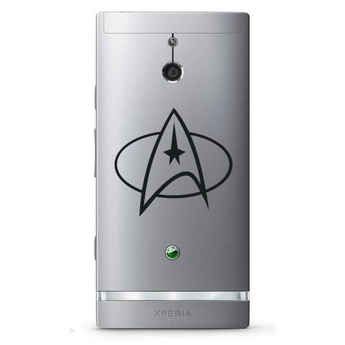 Star Trek Starfleet Insignia Bumper/Phone/Laptop Sticker - Apex Stickers