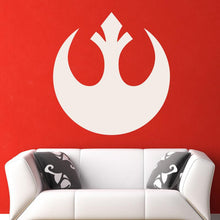 Load image into Gallery viewer, Star Wars Rebel Alliance Logo Wall Art Sticker - Apex Stickers