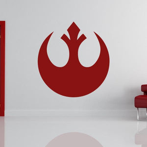 Star Wars Rebel Alliance Logo Wall Art Sticker - Apex Stickers