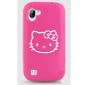 Hello Kitty Logo Bumper/Phone/Laptop Sticker - Apex Stickers
