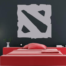 Load image into Gallery viewer, DOTA 2 Logo Wall Art Sticker - Apex Stickers