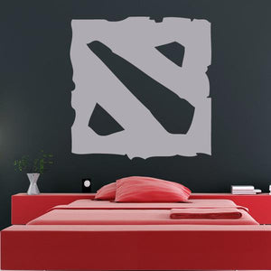 DOTA 2 Logo Wall Art Sticker - Apex Stickers