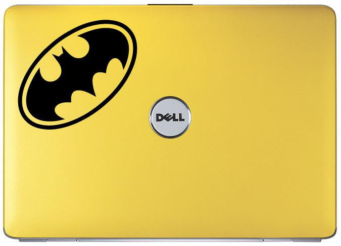 Batman Retro Superhero Logo Bumper/Phone/Laptop Sticker - Apex Stickers
