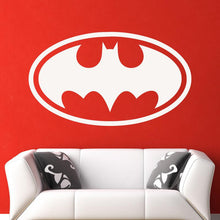 Load image into Gallery viewer, Batman Retro Superhero Logo Wall Art Sticker - Apex Stickers