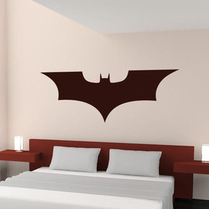Batman Dark Knight Superhero Logo Wall Art Sticker (AS10195) - Apex Stickers