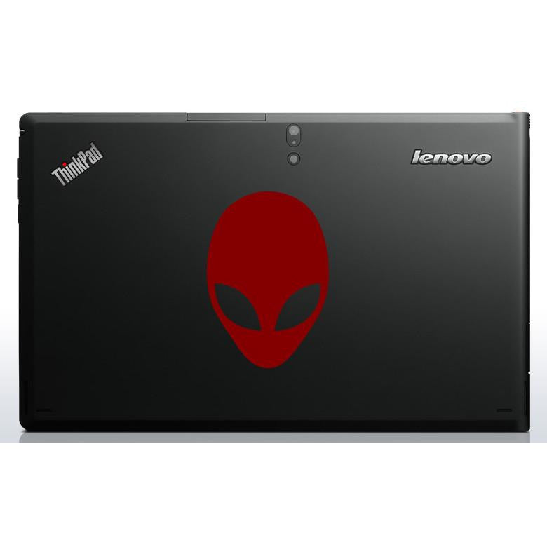 Alien Head Bumper/Phone/Laptop Sticker (AS11021) - Apex Stickers