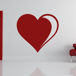 Love Heart Wall Art Sticker - Apex Stickers