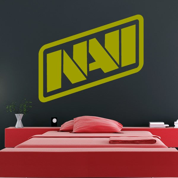 Natus Vincere NAVI eSports team logo CSGO Dota 2 Wall Art Sticker - Apex Stickers