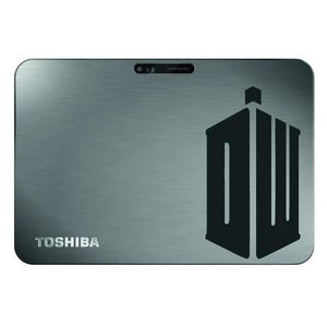 Doctor Who DR Tardis Logo Bumper/Phone/Laptop Sticker (AS11034) - Apex Stickers