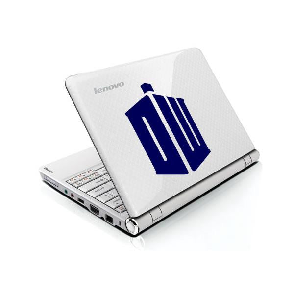 Doctor Who DR Tardis Logo Bumper/Phone/Laptop Sticker - Apex Stickers