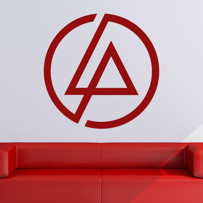 Linkin Park LP Band Logo Wall Art Sticker (AS10206) - Apex Stickers