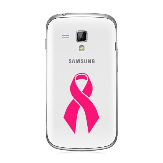 Cancer Awareness Ribbon Bumper/Phone/Laptop Sticker - Apex Stickers