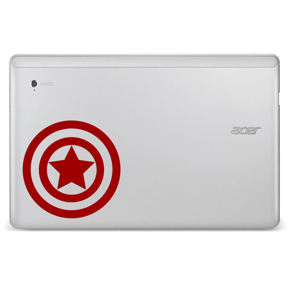 Captain America Avengers Superhero Logo Bumper/Phone/Laptop Sticker - Apex Stickers
