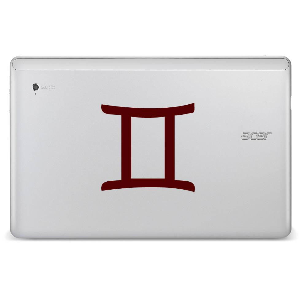 Gemini Zodiac Star Sign Bumper/Phone/Laptop Sticker - Apex Stickers