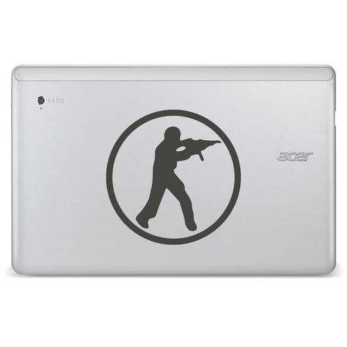 Counterstrike CSGO Logo Bumper/Phone/Laptop Sticker - Apex Stickers