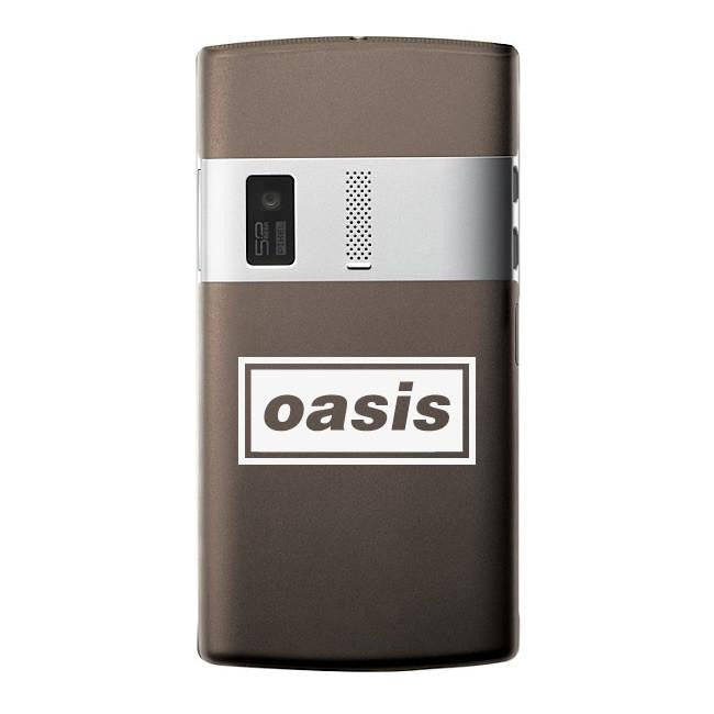 Oasis Band Logo Bumper/Phone/Laptop Sticker - Apex Stickers