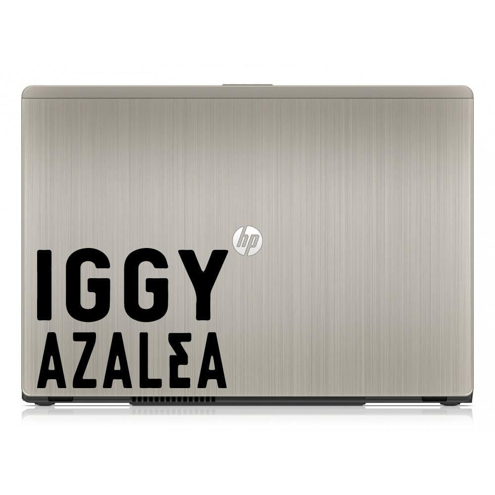 Iggy Azalea Singer Logo Bumper/Phone/Laptop Sticker - Apex Stickers