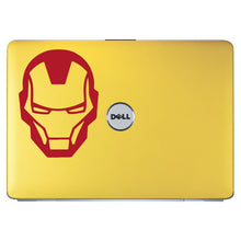 Load image into Gallery viewer, Iron Man Superhero Head Logo Bumper/Phone/Laptop Sticker - Apex Stickers