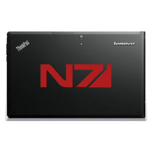 Mass Effect N7 Insignia Computer Game Logo Bumper/Phone/Laptop Sticker - Apex Stickers