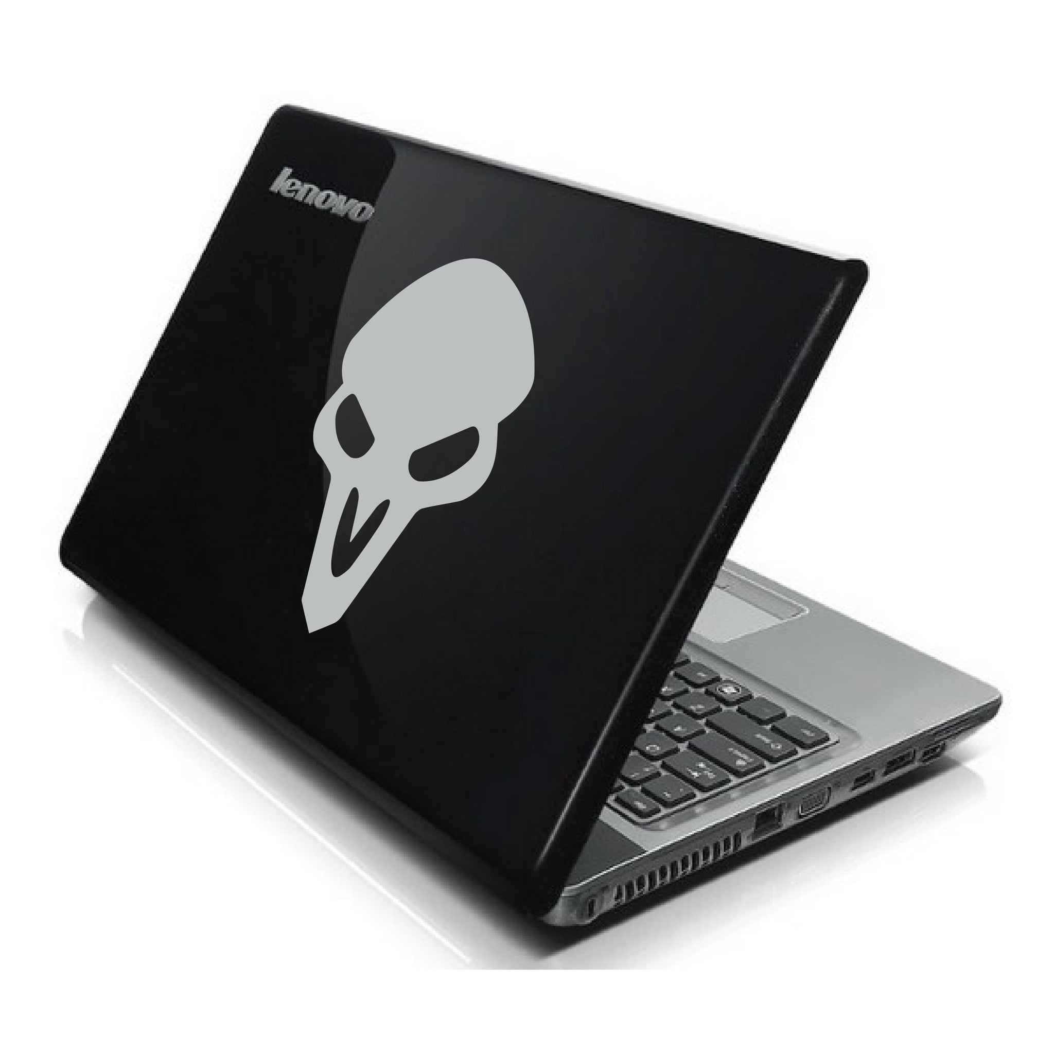 Reaper Skull Overwatch Computer Game Bumper/Phone/Laptop Sticker - Apex Stickers