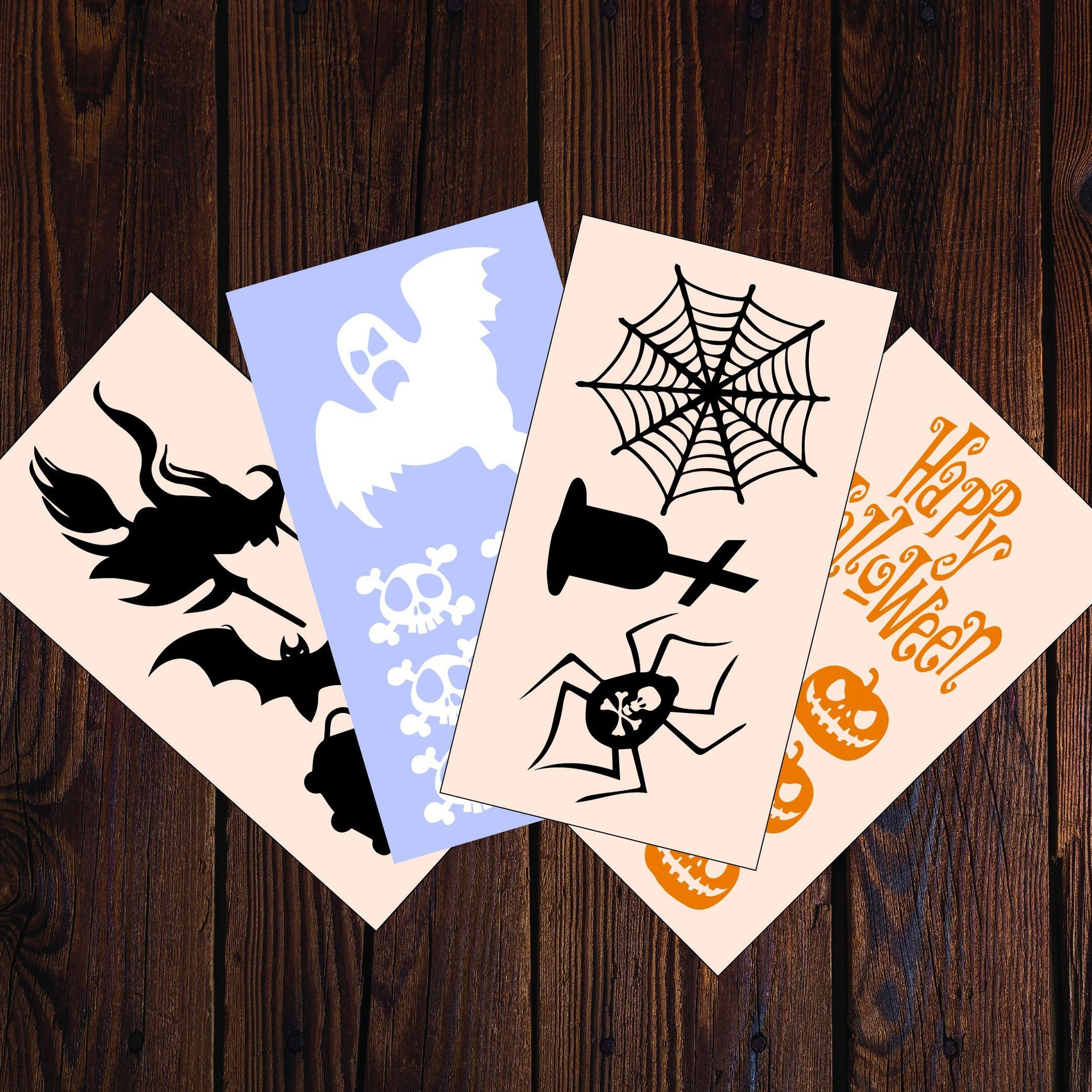 Halloween Decals Multi-pack 20 Stickers (AS21000) - Apex Stickers