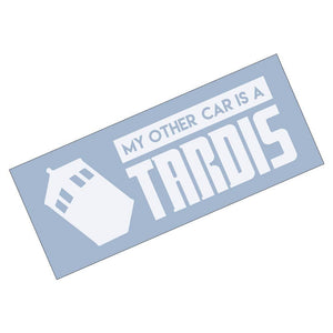 Doctor Who My Other Car is a Tardis Car Bumper Sticker (AS30001) - Apex Stickers