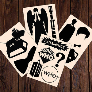 Doctor Who Decals 12 Sticker Multi-Pack (AS20002)