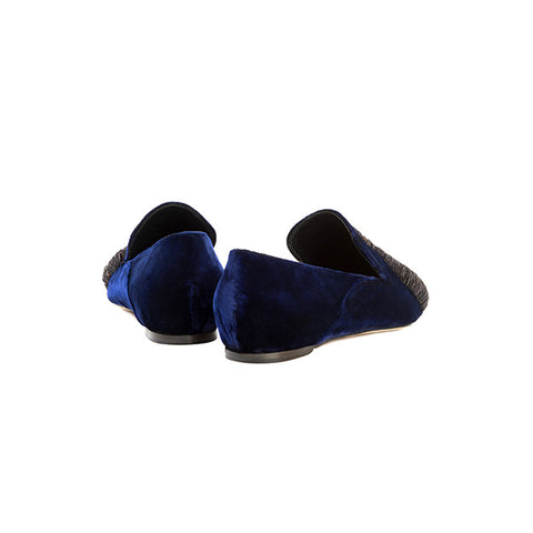 SANAYI 313 Embroidered spider loafers royal blue