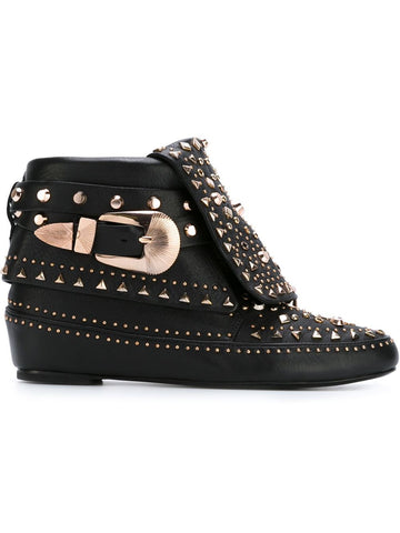 adobee black moccasin boot