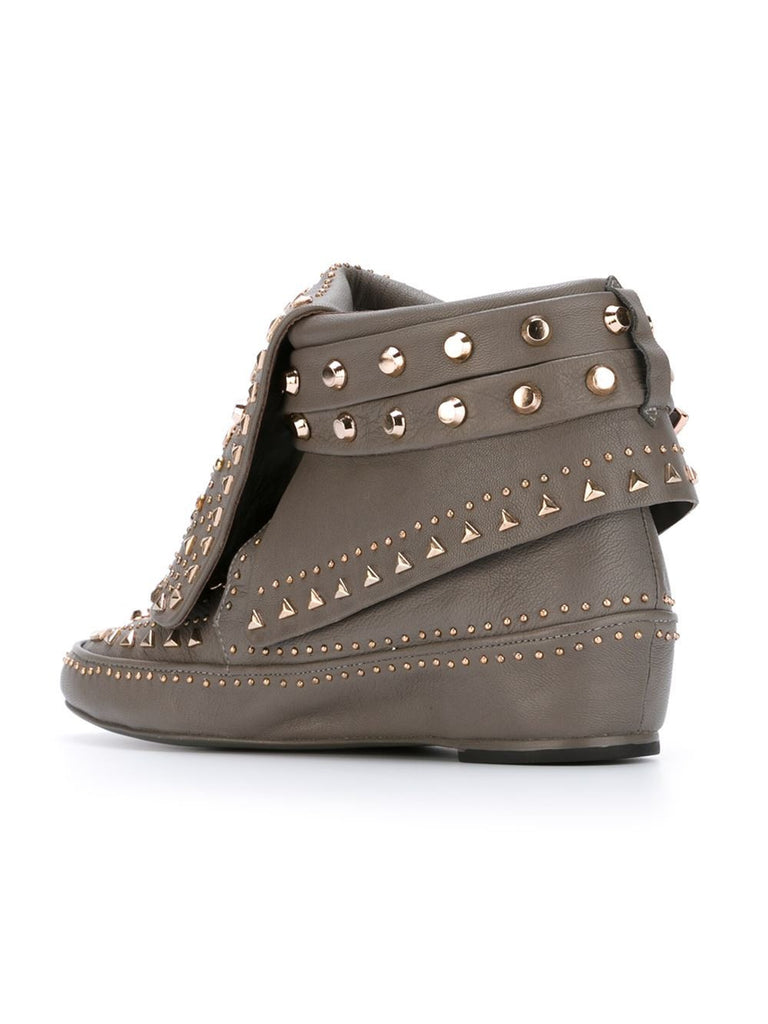 Adobee asphalt moccasin boot