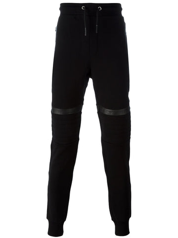 Les Hommes knee patch track pants