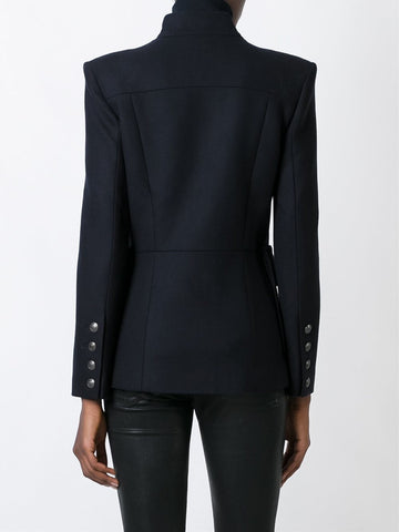 PIERRE BALMAIN buttoned fitted jacket