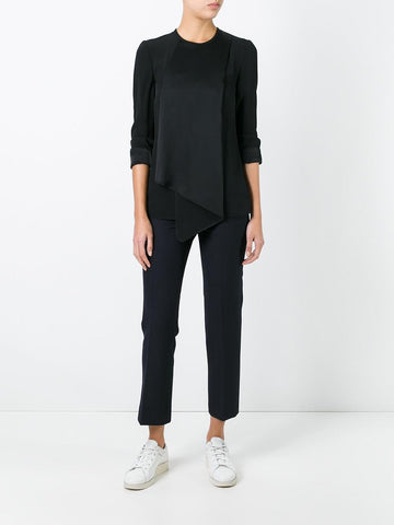 black fold blouse from victoria beckham