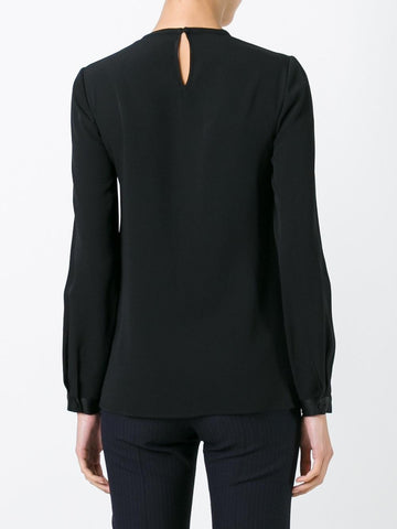 'Double Fold' blouse from Victoria Beckham