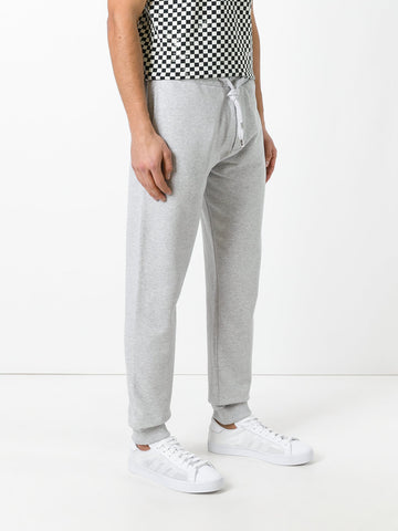 LIGHT GREY TRACK PANTS WITH SMALL TIGER FROM KENZO
