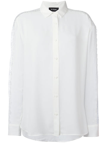 THE KOOPLES  lace insert shirt