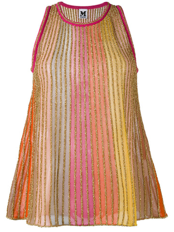 MULTI COULORED metallic knit top FROM M MISSONI