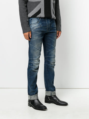 biker jeans from Pierre Balmain