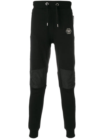 BLACK JOGGING PANTS WITH DETAIL FROM PHILIPP PLEIN