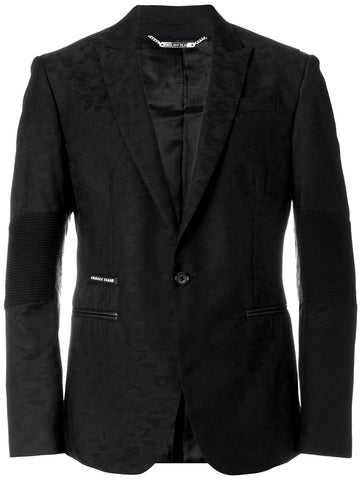 BLACK JACKET WITH BLACK PATTERN FROM PHILIPP PLEIN