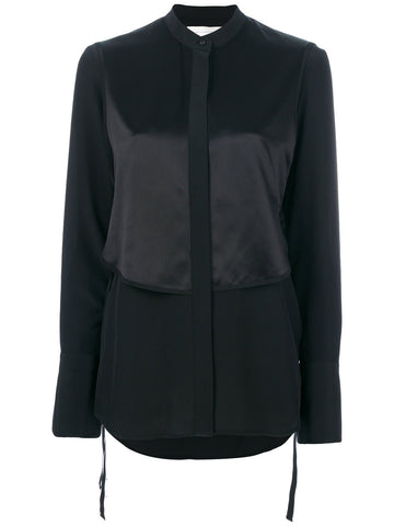 BLACK LONG SHIRT FROM VICTORIA BECKHAM