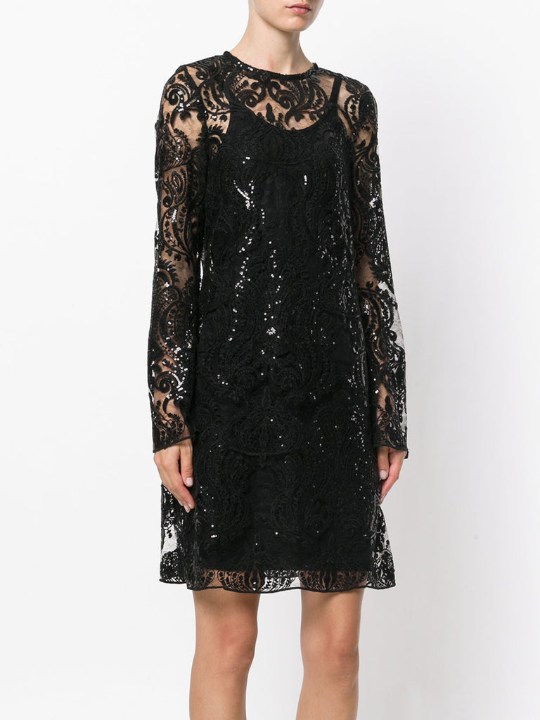 Black sequin dress from iiL7