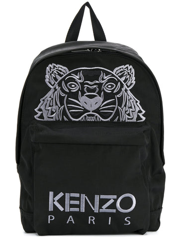 Tiger canvas backpack by Kenzo
